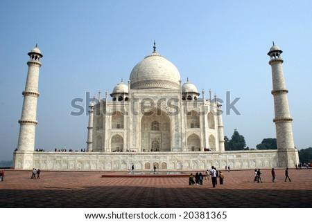 Taj Mahal 04 - stock photo
