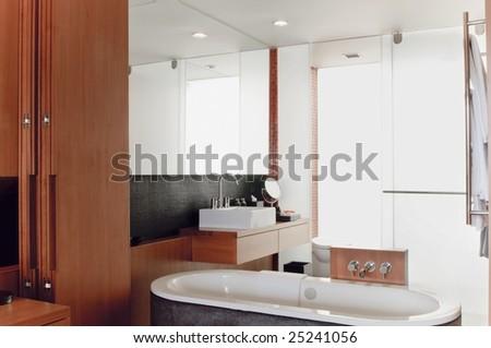 take a bath - stock photo