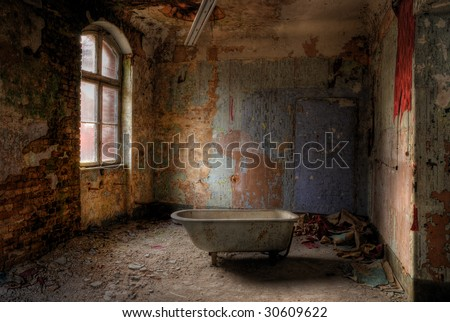 take a bath - stock photo