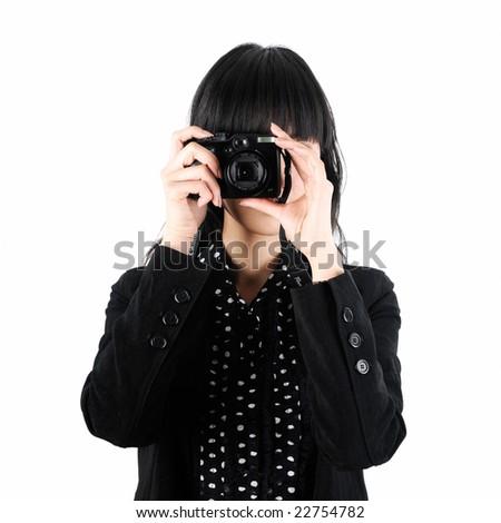 Take a Photo - stock photo