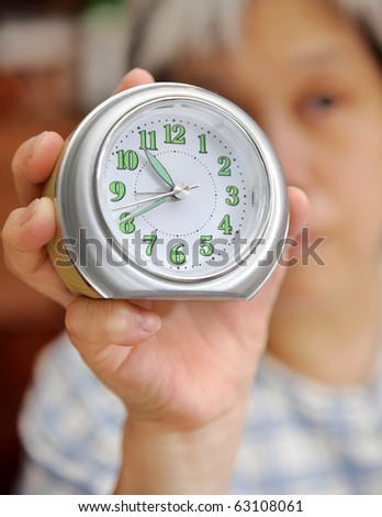 take your time - stock photo