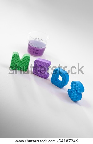 Taking Your Meds ( Conceptual Image ) - stock photo