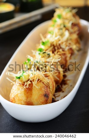 takoyaki, traditional japanese food