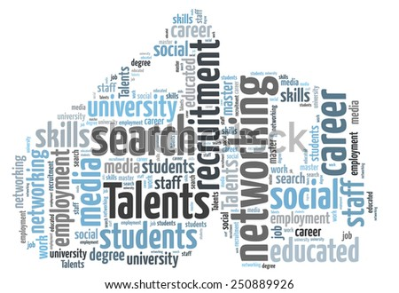 Talents Recruitment - stock photo