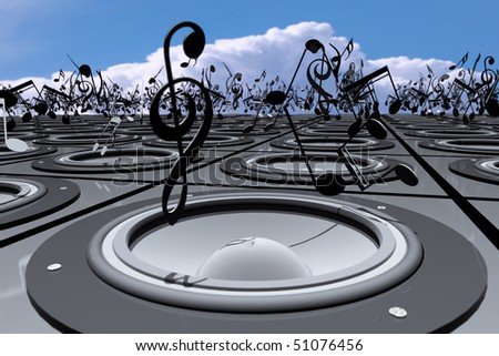Talk About Music - stock photo