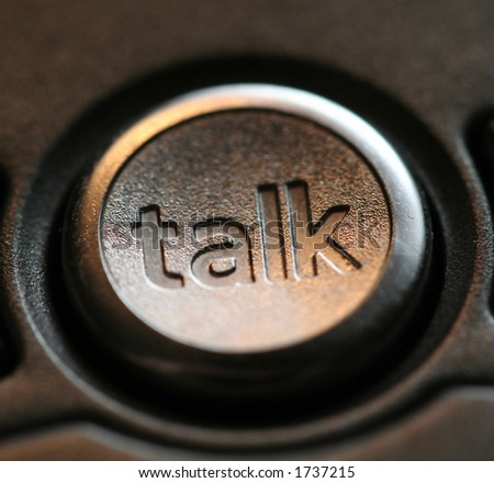 Talk button on a phone