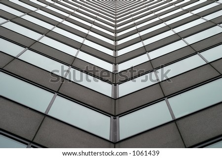 Tall business building 1 - stock photo