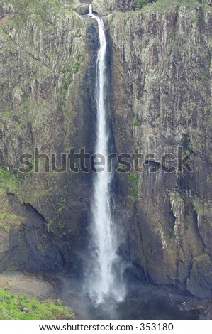 tall waterfall