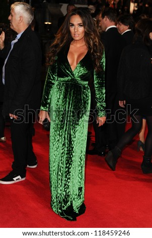 Tamara Ecclestone arriving for the Royal World Premiere of 'Skyfall' at Royal Albert Hall, London. 23/10/2012