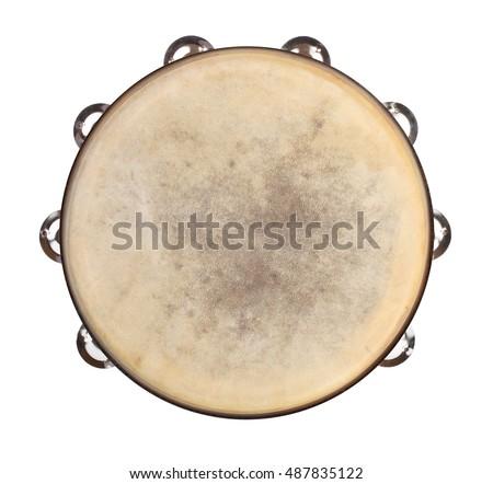 Paper Plate Pandeiro