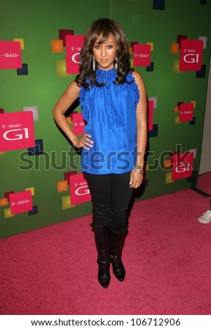 at the t mobile tamera mowry at the t mobile
