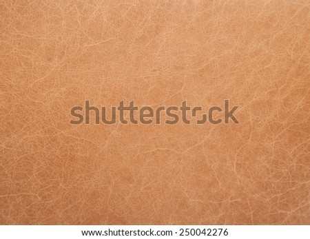 tan leather abstract background texture - stock photo