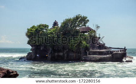 Tanah Lot, Bali. Indonesia - stock photo