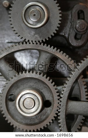 Tandem junction. Transmission gear