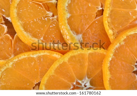 tangerine background
