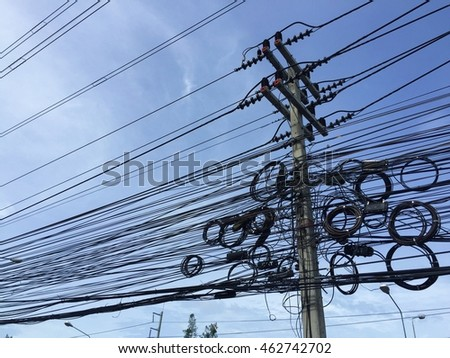 Tangled Wires Stock Images, Royalty-Free Images & Vectors ...