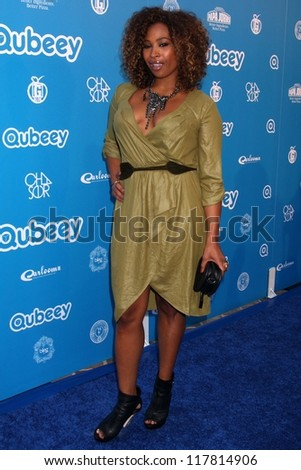 Tanika Ray at the Chris Brown Channel Launch Party, Private Location, Los Angeles, CA 10-20-12