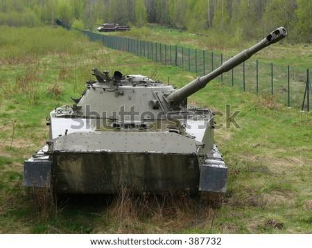 Tank - stock photo