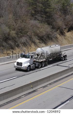Tanker Truck - stock photo