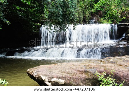 tanthong waterfall  in Nonkghai Proince,Thailand