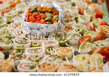 tapas - stock photo
