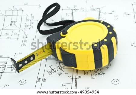 tape-measure - stock photo