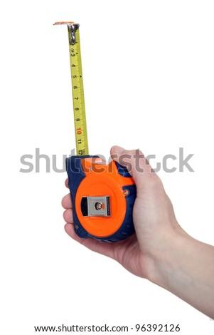 Tape measure - stock photo
