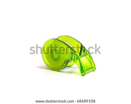 tape on a white background - stock photo