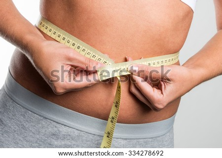 tapeline measures belly