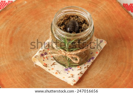 Tapenade - stock photo