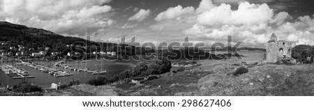 Tarbert Loch Fyne, Kintyre, Scotland - stock photo