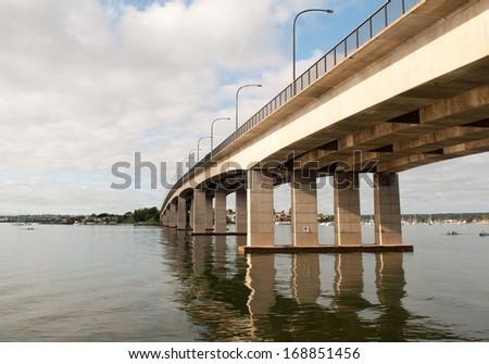 Taren Point Bridge - stock photo