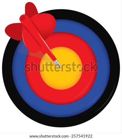 target - stock photo