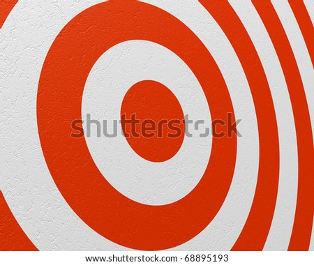 target closeup - stock photo