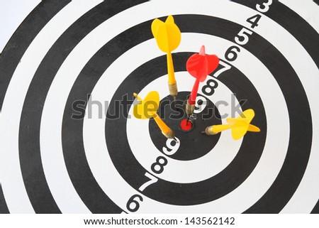Target concept - stock photo