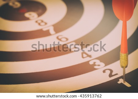 target dart with target arrows and dartboard is the target and goal,abstract background to target marketing,target arrow,target strategy, target business,target achieve and target to victory concept . - stock photo