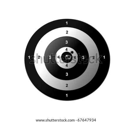 Target practise - stock photo