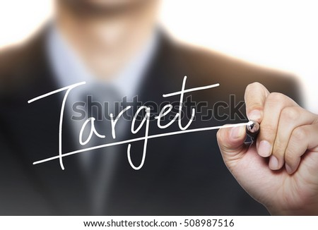 target written by hand, hand writing on transparent board, photo