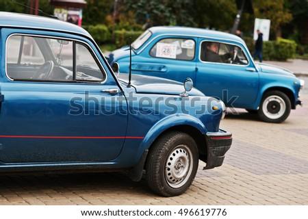 Retro car zaz zaporozhets 965 designed and built from 1960 1963