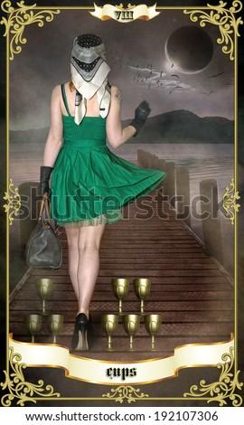Tarot - stock photo
