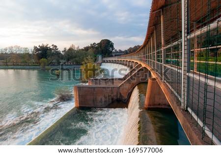 Tarsus Dam  - stock photo