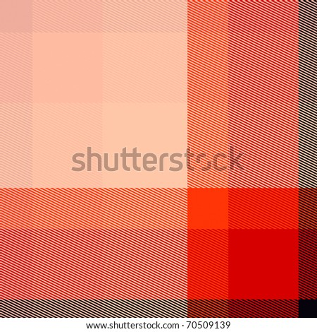 Tartan or plaid seamless texture in red and black shades - stock photo