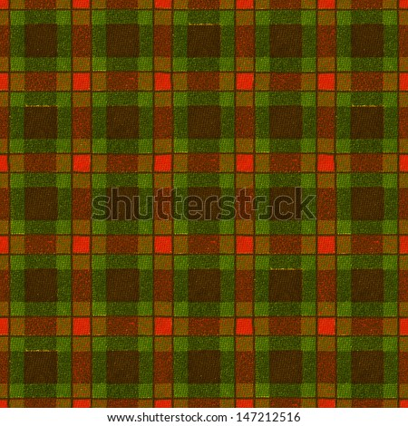 Tartan seamless texture. Christmas background - stock photo