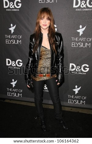 Taryn Manning   at the D and G Flagship Opening in Support of The Art of Elysium. D and G, Beverly Hills, CA. 12-15-08