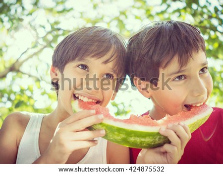 Taste of summer - stock photo