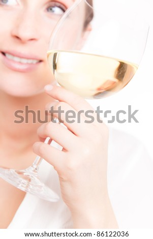 tasting - stock photo