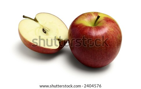 Tasty Apples - stock photo