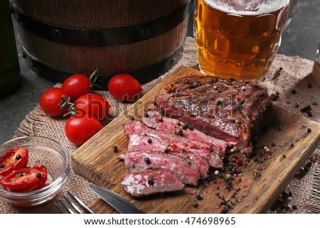 Мясо под пиво