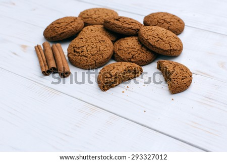 Tasty oat cookies