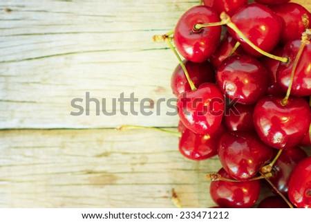 tasty summer berries - stock photo